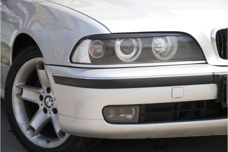 Реснички на передние фары BMW E39 2001-