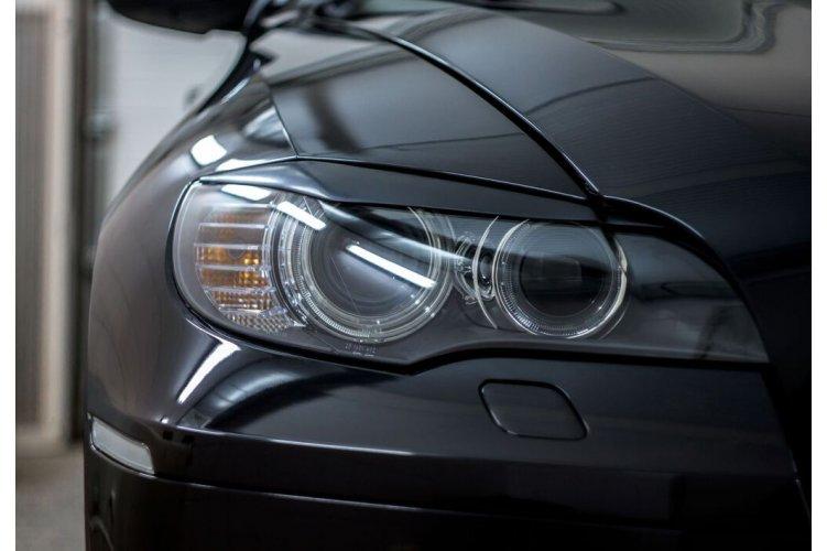 Реснички на передние фары X6 (E71) 2010-