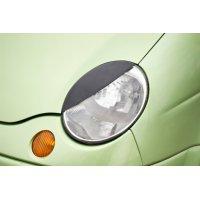 Реснички на передние фары Дэу Matiz 2000-