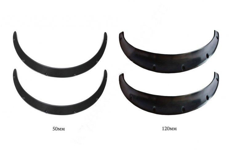 Накладки арок (фендеры) вынос 50мм + вынос 120мм