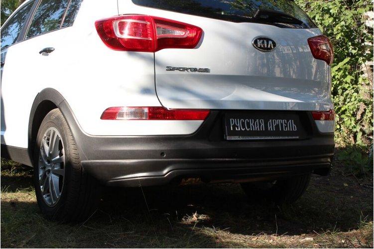 Тюнинг обвес для заднего бампера Kia Sportage 3