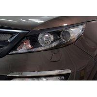 Реснички на передние фары Kia Sportage 2014-