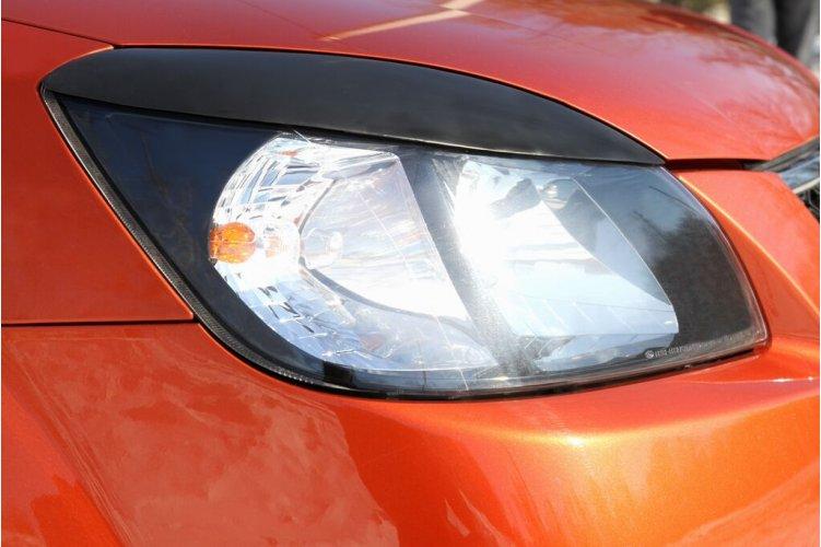Реснички на передние фары Kia Rio 2005-2011