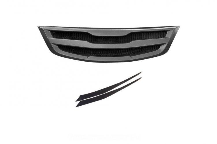 Тюнинг комплект (решетка+реснички) KIA Sportage 3