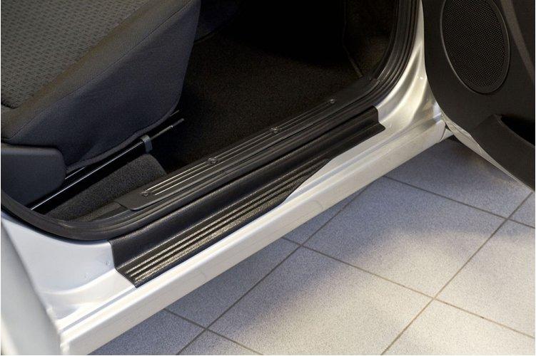 Накладки на пороги дверей (седан) Lada Granta 2011-