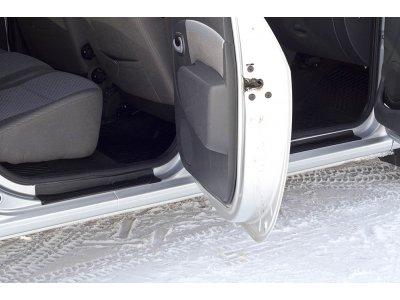 Комплект накладок для порогов (4шт.) Lada Largus Cross