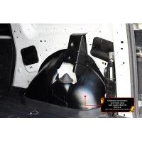 Обшивка колесных арок грузового отсека Lada Largus фургон