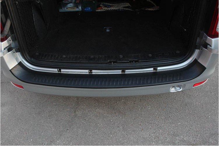 Защитная накладка на бампер (фургон) Lada Largus 2012-