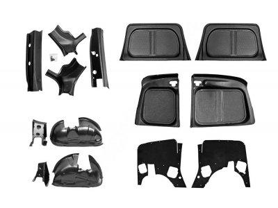 Защитный комплект №2 Lada Largus фургон 2012-