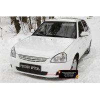Заглушка (накладка) бампера для Lada (ВАЗ) Приора (седан) 2012-2013
