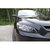 Реснички на фары (передние) №2 Mazda 3 2003-
