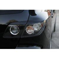 Реснички на фары (задние) Mazda 3 2003-
