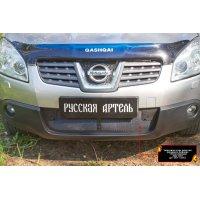 Пластиковая сетка в бампер Nissan Qashqai 2006-