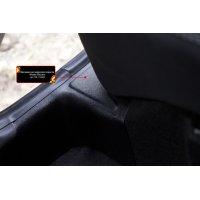 Накладки на ковролин порогов Nissan Terrano 2014-2017