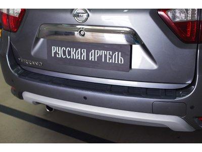 Накладка на бампер (задний) Nissan Terrano 2014-