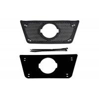 Пластиковая сетка и заглушка радиатора Nissan Terrano 2014-