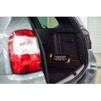 Защита на боковые стойки багажника Nissan Terrano 2014-