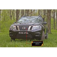 Зимние накладки (заглушки) в бампер и на радиатор Nissan Terrano 2014-