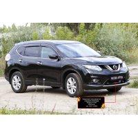 Пластиковая сетка бампера Nissan X-trail 2015-