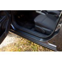 Накладки на пороги защитные (4шт) Opel Astra 2006-