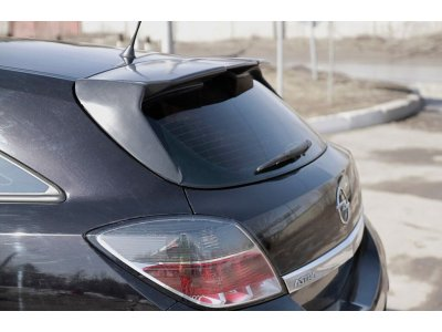 Задний спойлер для Opel Astra H 2007-