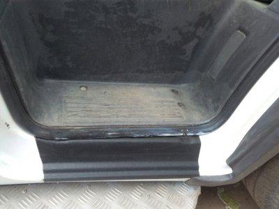 Пластиковые накладки порогов (кузов 250) Ситроен Джампер