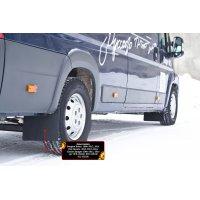 Брызговики (передние 2 шт) Peugeot Boxer 2014-