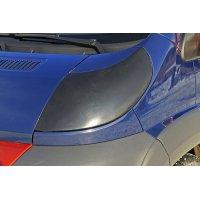 Накладки на фары (АБС-пластик-2мм) для с/м изготовления Citroen Jumper 2006-2013