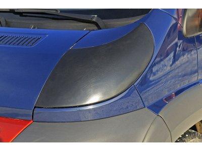 Накладки на фары (АБС-пластик-2мм) для с/м изготовления Peugeot Boxer 2006-