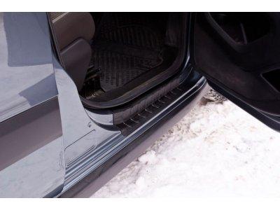Накладки на пороги дверей Peugeot Partner