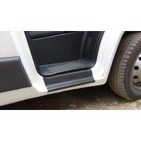 Пластиковые накладки на пороги Citroen Jumper 2006