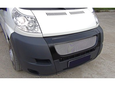 Решётка радиатора с сеткой металлической Peugeot Boxer 2006-