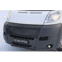 Решётка радиатора (зимний вариант) Peugeot Boxer 2006-