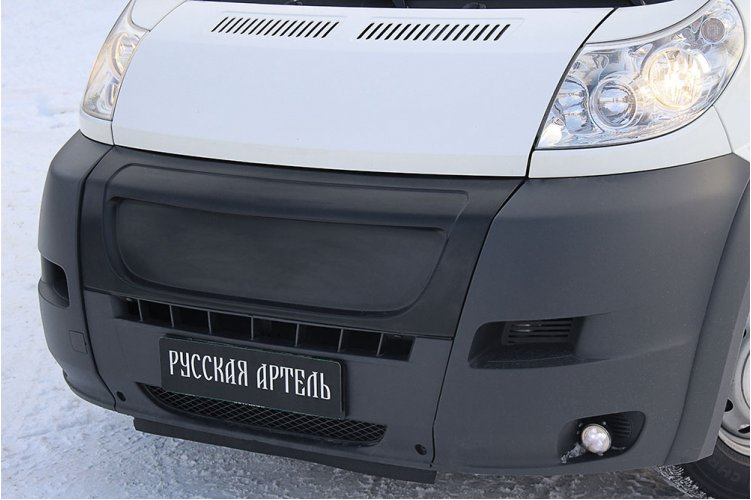 Решётка радиатора (зимний вариант) Citroen Jumper 2006-