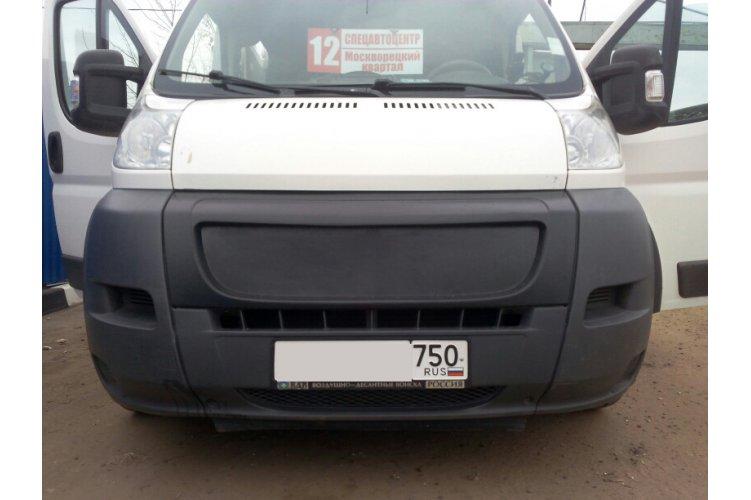 Решётка радиатора (зимний вариант) Fiat Ducato 2012-