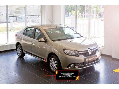 Молдинги для дверей Renault Logan 2014-