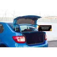 Обшивка внутренней части крышки багажника Рено Логан