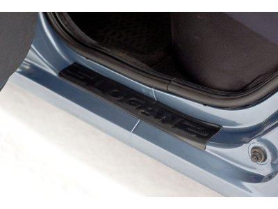 Комплект накладок на пороги Renault Logan 2004-
