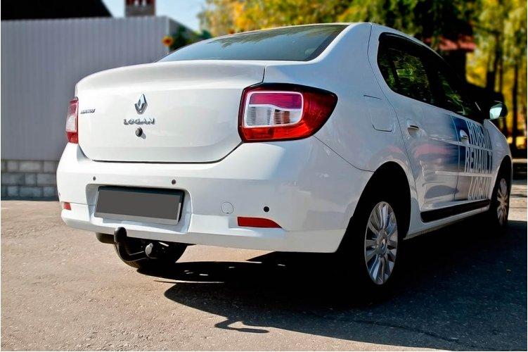 Накладки на фонари (задние) Renault Logan 2014-2017