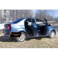 Накладки на ковролин для Renault Logan 2004-