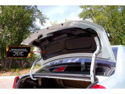 Обшивка внутренней части багажника Рено Логан 2004-