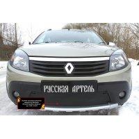 Заглушка (накладка) зимняя в бампер Renault Sandero Stepway