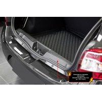 Накладка на порог багажника Renault Sandero 2014-