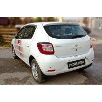 Накладки на фонари (задние) Renault Sandero 2014-