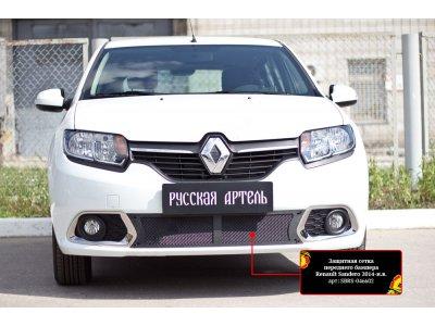 Пластиковая сетка в бампер Renault Sandero 2