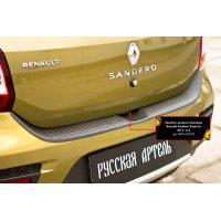 Защита бампера Renault Sandero Stepway 2014-