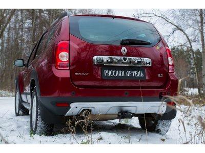 Аэродинамический обвес заднего бампера (металлик) Renault Duster 2010-