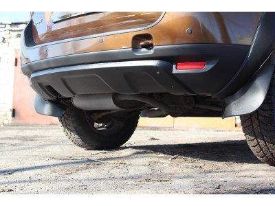 Аэродинамический обвес заднего бампера Renault Duster 2010-