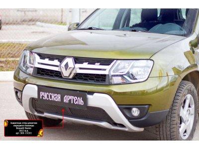 Пластиковая сетка в бампер для Renault Duster 2015-