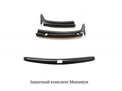 Комплект накладок для защиты 'Минимум' Nissan Terrano 2014-